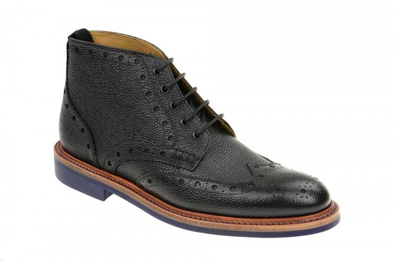 Gordon & Bros. HARRY elegante Stiefelette für Herren in schwarz