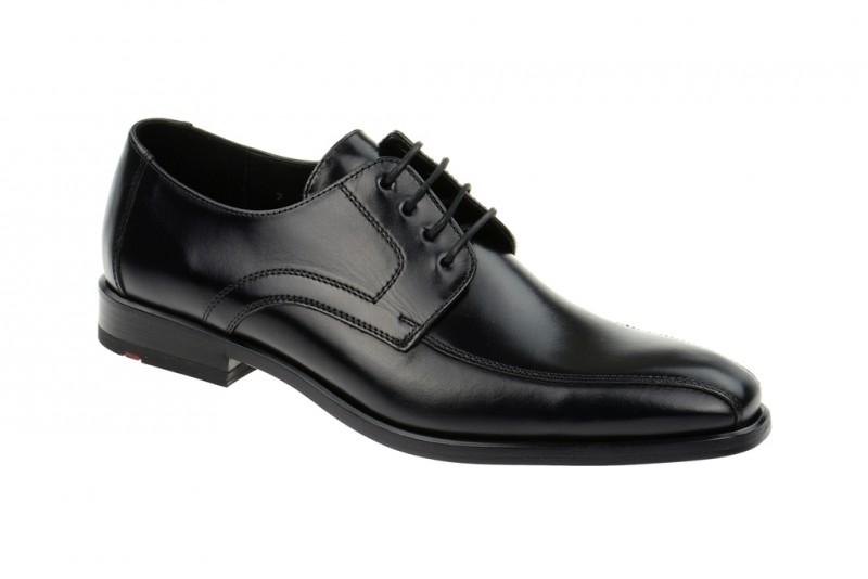 Lloyd DARAN elegante Halbschuhe und Schnürschuhe für Herren in schwarz